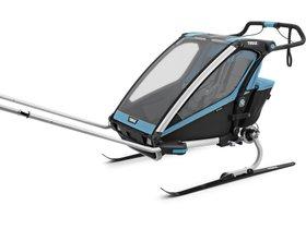 Детская коляска Thule Chariot Sport 2 (Blue-Black) 280x210 - Фото 9