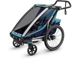 Детская коляска Thule Chariot Cross 1 (Blue-Poseidon) 280x210 - Фото 3