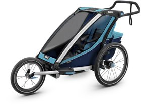 Детская коляска Thule Chariot Cross 1 (Blue-Poseidon) 280x210 - Фото 8