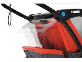 Детская коляска Thule Chariot Cross 1 (Roarange-Dark Shadow) 280x210 - Фото 13