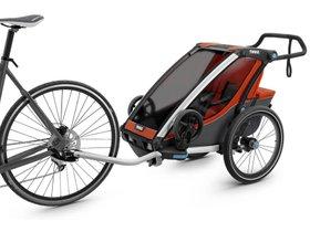 Детская коляска Thule Chariot Cross 1 (Roarange-Dark Shadow) 280x210 - Фото 2