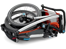 Детская коляска Thule Chariot Cross 1 (Roarange-Dark Shadow) 280x210 - Фото 5