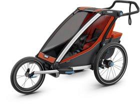 Детская коляска Thule Chariot Cross 1 (Roarange-Dark Shadow) 280x210 - Фото 8