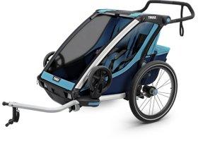 Детская коляска Thule Chariot Cross 2 (Blue-Poseidon) 280x210 - Фото