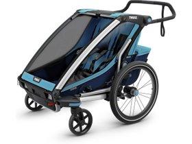 Детская коляска Thule Chariot Cross 2 (Blue-Poseidon) 280x210 - Фото 3