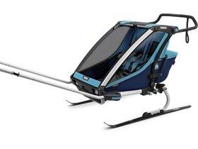 Детская коляска Thule Chariot Cross 2 (Blue-Poseidon) 280x210 - Фото 8