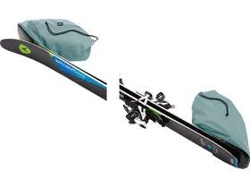 Чехол на колесах для лыж Thule RoundTrip Ski Roller 192cm (Dark Slate) 280x210 - Фото 9