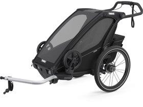 Детская коляска Thule Chariot Sport 1 (Midnight Black) 280x210 - Фото