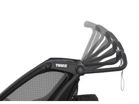 Детская коляска Thule Chariot Sport 1 (Midnight Black) 280x210 - Фото 10