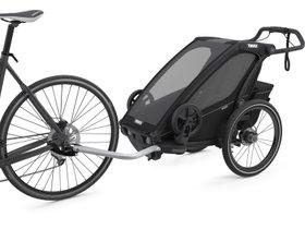 Детская коляска Thule Chariot Sport 1 (Midnight Black) 280x210 - Фото 2