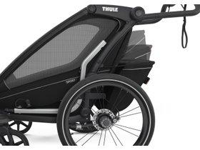 Детская коляска Thule Chariot Sport 1 (Midnight Black) 280x210 - Фото 9
