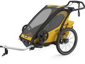 Детская коляска Thule Chariot Sport 1 (Spectra Yellow) 280x210 - Фото