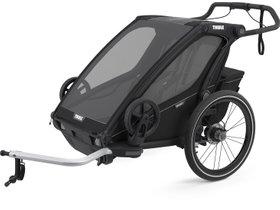 Детская коляска Thule Chariot Sport 2 (Black on Black) 280x210 - Фото
