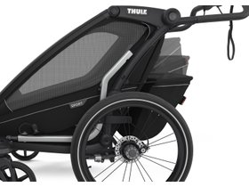 Детская коляска Thule Chariot Sport 2 (Black on Black) 280x210 - Фото 9