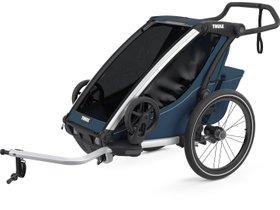 Детская коляска Thule Chariot Cross 1 (Majolica Blue)