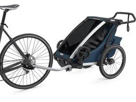 Детская коляска Thule Chariot Cross 1 (Majolica Blue) 280x210 - Фото 2
