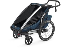 Детская коляска Thule Chariot Cross 1 (Majolica Blue) 280x210 - Фото 3