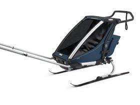 Детская коляска Thule Chariot Cross 1 (Majolica Blue) 280x210 - Фото 7