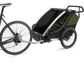 Детская коляска Thule Chariot Cab 2 (Cypress Green) 280x210 - Фото 2