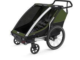 Детская коляска Thule Chariot Cab 2 (Cypress Green) 280x210 - Фото 3