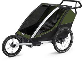 Детская коляска Thule Chariot Cab 2 (Cypress Green) 280x210 - Фото 7