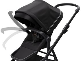 Детская коляска Thule Sleek (Midnight Black on Black) 280x210 - Фото 6