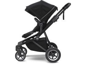 Детская коляска с люлькой Thule Sleek (Midnight Black on Black) 280x210 - Фото 2