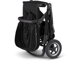 Детская коляска с люлькой Thule Sleek (Midnight Black on Black) 280x210 - Фото 4