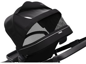 Детская коляска с люлькой Thule Sleek (Midnight Black on Black) 280x210 - Фото 5
