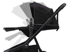 Детская коляска с люлькой Thule Sleek (Midnight Black on Black) 280x210 - Фото 6