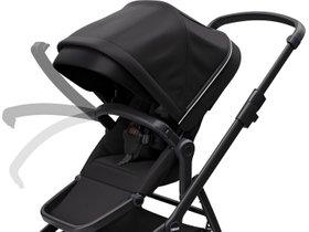 Детская коляска с люлькой Thule Sleek (Midnight Black on Black) 280x210 - Фото 7