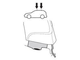 Монтажный комплект Thule 1835 для Nissan Serena (mkV); Suzuki Landy (mkIII) 2016→ 280x210 - Фото 2