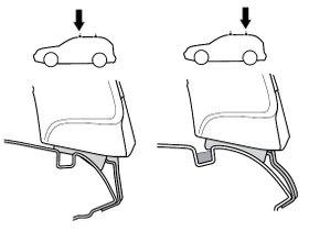 Монтажный комплект Thule 1052 для Seat Arosa (mkI) / Volkswagen Lupo (mkI) 1997-2005 280x210 - Фото 2