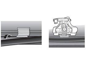 Монтажный комплект Thule 1192 для Dodge / Chrystler / Plymouth Neon (mkI) 2000-2006 280x210 - Фото 2