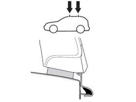 Монтажный комплект Thule 1203 для Chrysler PT Cruiser (mkI) 2000-2010; SsangYong / Daewoo Musso (mkI) 1993-2005 280x210 - Фото 2