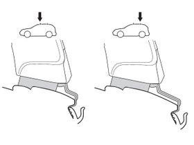 Монтажный комплект Thule 1460 для Toyota Noah (mkII) / Voxy (mkII) 2007-2013 280x210 - Фото 2