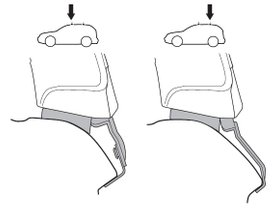 Монтажный комплект Thule 1519 для Acura TL (mkIV) 2009-2014 280x210 - Фото 2