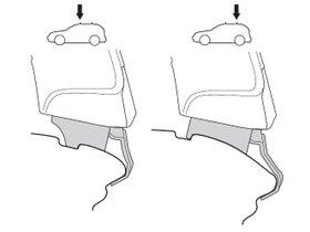 Монтажный комплект Thule 1525 для Suzuki Alto (mkVII); Nissan Pixo (mkI) 2008-2014 280x210 - Фото 2