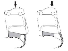Монтажный комплект Thule 1706 для Chevrolet Onix/Prisma (mkI)(седан и хетчбэк) 2013-2019 280x210 - Фото 2