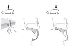 Монтажный комплект Thule 1861 для Seat Ibiza (mkV)(хетчбэк) 2017→ 280x210 - Фото 2