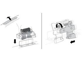 Монтажный комплект Thule 3017 для Peugeot 207 (mkI)(хетчбэк) 2006-2014 / 308 (mkI)(хетчбэк) 2007-2013 / 407 (mkI)(седан) 2003-2010; 3008/5008 (mkI) 2009-2016; Citroen C5 (mkII)(седан) 2007-2017 / C6 (mkI) 2005-2012 280x210 - Фото 2