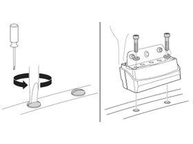 Монтажный комплект Thule 3029 для Mercedes-Benz V-Class (W447) 2014→ / Vito/Viano (W639) 2004-2013 280x210 - Фото 2