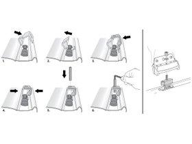 Монтажный комплект Thule 3074 для Toyota Land Cruiser (J200) 2007-2015; Toyota Highlander (mkIII) 2013-2020 280x210 - Фото 2