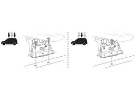 Монтажный комплект Thule 3088 для Fiat Doblo (mkII); Opel/Vauxhall Combo D (mkIV) 2010→ 280x210 - Фото 2