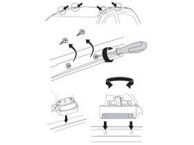 Монтажный комплект Thule 3132 для Acura MDX (mkIII) 2014-2020; Honda Pilot (mkIII) 2016→ 280x210 - Фото 2