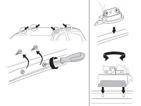 Монтажный комплект Thule 4041 для Chevrolet Suburban/Tahoe; GMC Yukon (mkXI); Cadillac Escalade (mkIV) 2015-2020; Chevrolet TrailBlazer (mkII) 2015→ 280x210 - Фото 2