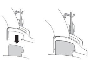 Монтажный комплект Thule 4055 для Mercedes-Benz C-Class (универсал)(S205) 2015→; E-Class (универсал)(S213) 2016→ 280x210 - Фото 2