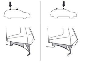 Монтажный комплект Thule 5141 для Citroen C1 (mkII)(5-дв.); Peugeot 108 (mkI)(5-дв.); Toyota Aygo (mkII)(5-дв.) 2014→ 280x210 - Фото 2