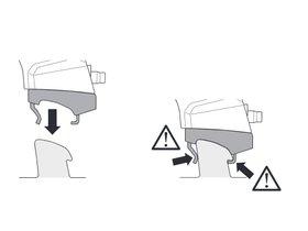 Монтажный комплект Thule 6014 для Audi A6/S6/RS6 (mkV-mkVI)(C6; C7)(универсал) 2005-2018 280x210 - Фото 2