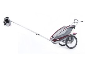 Детская коляска Thule Chariot CX 1 (Burgundy) 280x210 - Фото 4